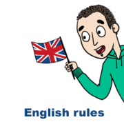 English rules pas