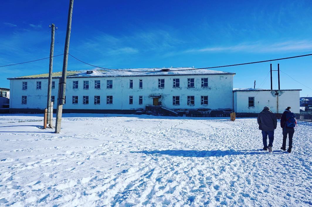 Ecole de Khatsgal au Nord-Est de la Mongolie